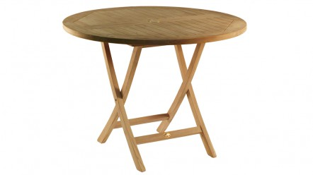 Table en teck PRASLIN pour 4 à 5 personnes