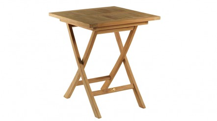 Table en teck CANARIES pour 2 personnes