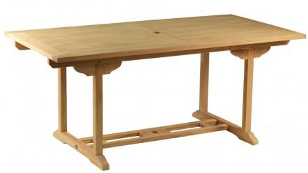 Table en teck  TAHITI pour 6 personnes