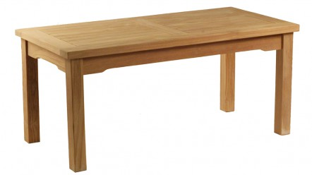 Table basse en teck 100x50cm
