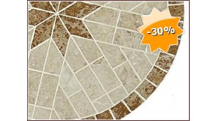 Table en marbre LOU, Diamètre 122 à 150.0 cm