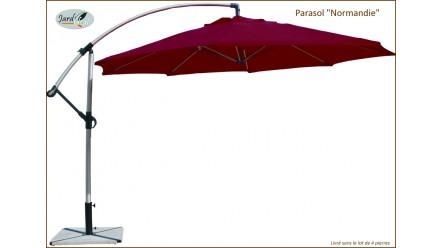 Parasol Aluminium NORMANDIE, D.350cm