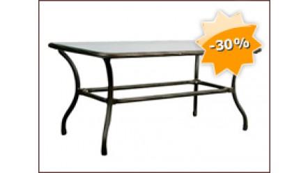 table basse en aluminium seville. Black Bedroom Furniture Sets. Home Design Ideas