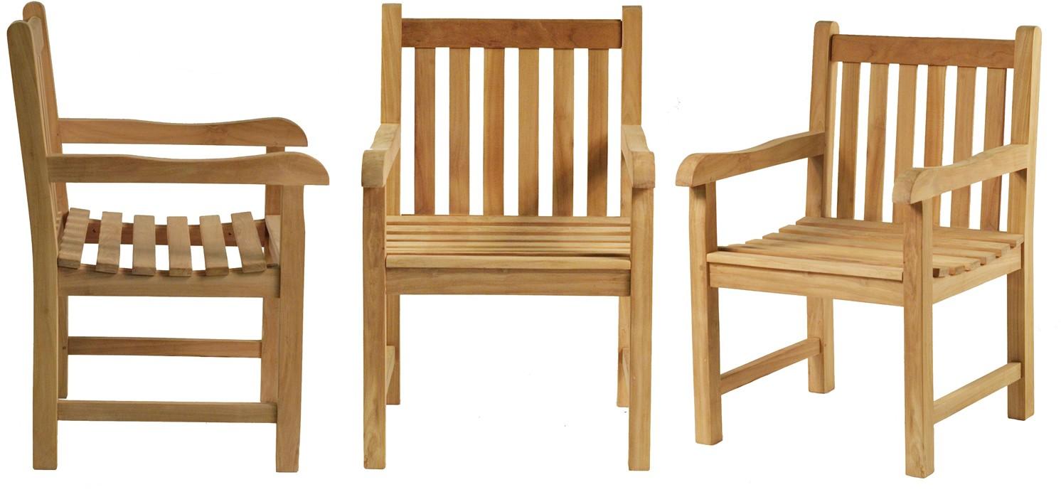 fauteuil en teck lovina. Black Bedroom Furniture Sets. Home Design Ideas