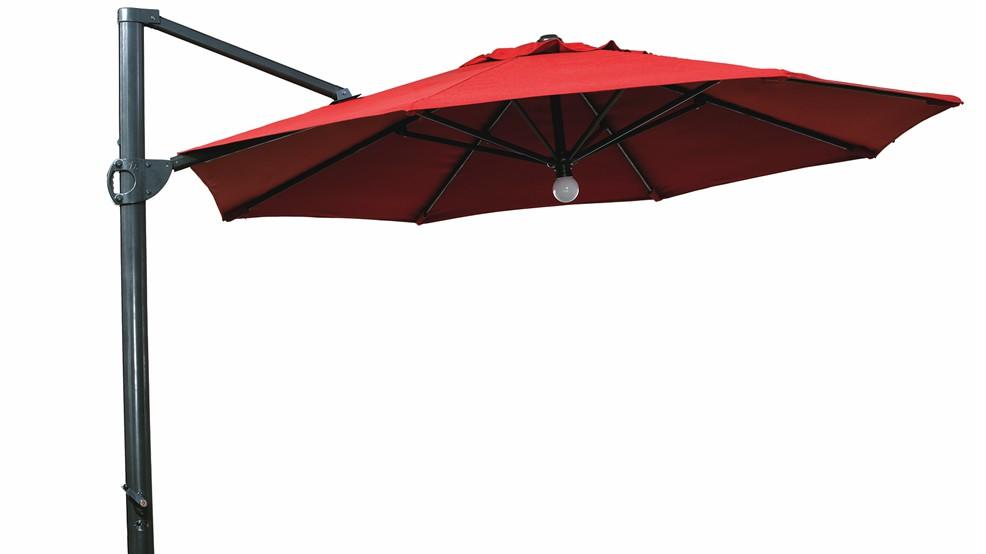parasol aluminium honfleur. Black Bedroom Furniture Sets. Home Design Ideas