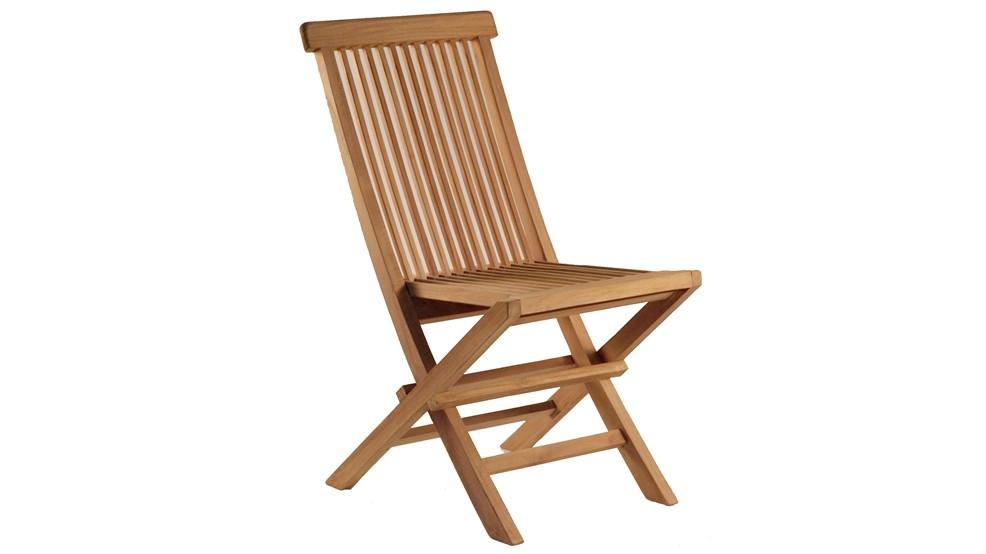 Chaise en teck BELAKANG, grade A