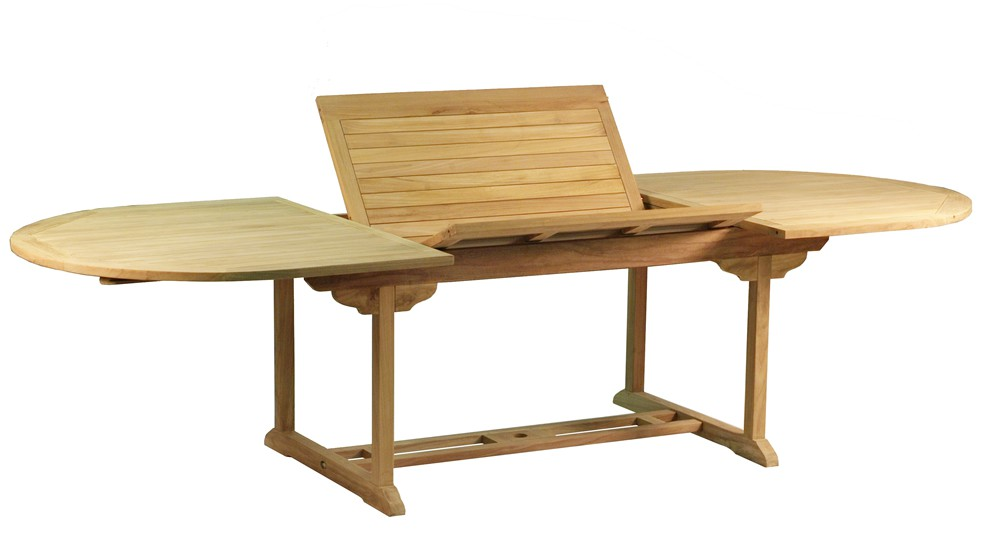 Table en teck BORA BORA, Grade A, 200-300.0 cm